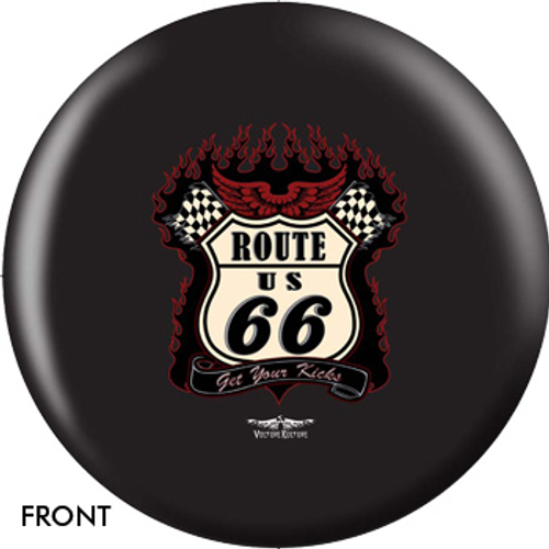 OTBB Vulture Culture Route 66 Bowling Ball