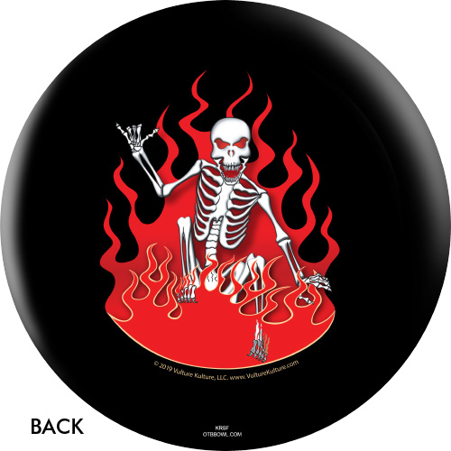 OTBB Vulture Culture Skate Death Bowling Ball