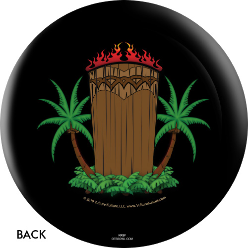 OTBB Vulture Culture Tiki Bowling Ball