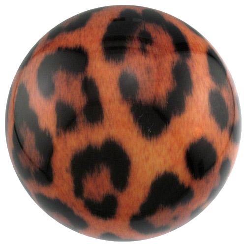 Brunswick Leopard Viz-A-Ball Bowling Ball