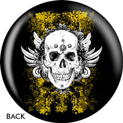 OTBB Grunge Skull Bowling Ball