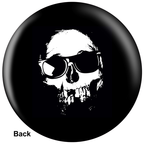 OTBB Cool Skull Bowling Ball