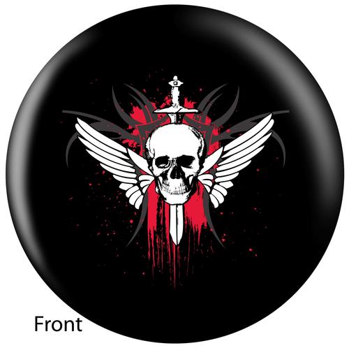 OTBB Winged Skull Bowling Ball