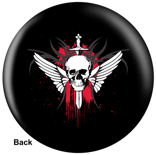 OTBB Winged Skull Bowling Ball