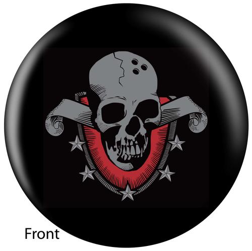 OTBB Skull Shield Bowling Ball