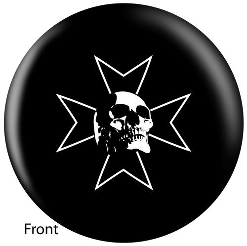 OTBB Skull Iron Bowling Ball