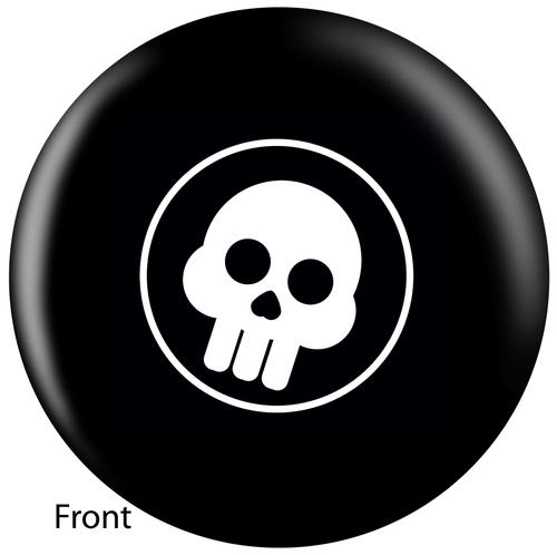 OTBB Comic Skull Bowling Ball