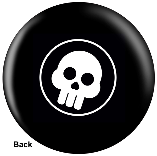 OTBB Comic Skull Bowling Ball