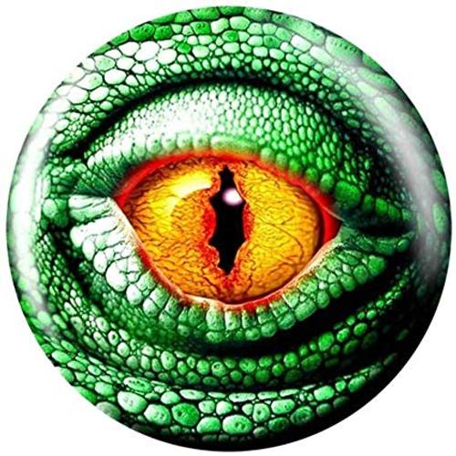 Brunswick Lizard Eye Glow Viz-A-Ball Bowling Ball