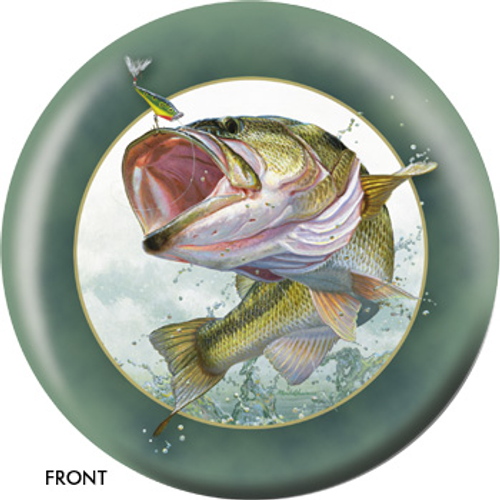 OTBB Largemouth Bass Bowling Ball