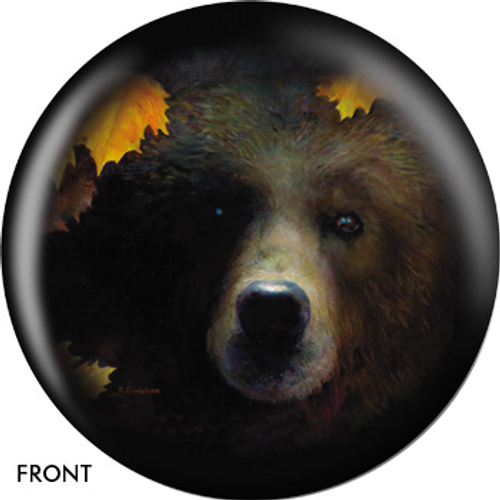 OTBB Grizzly Bear Bowling Ball