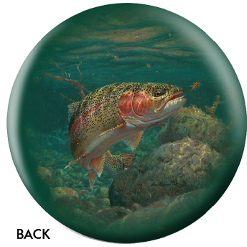 OTBB Rainbow Trout Bowling Ball