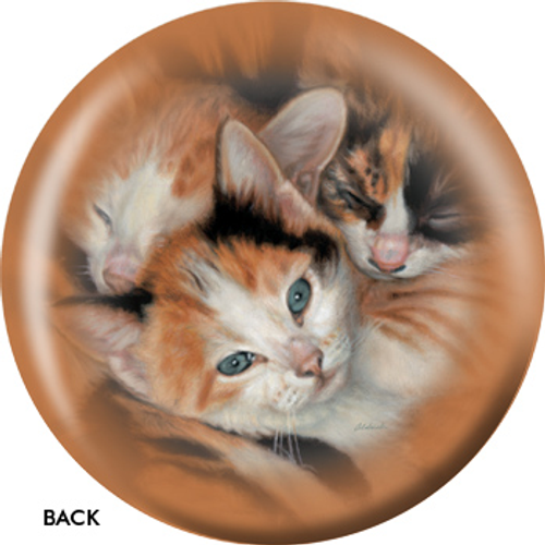 OTBB Three Kittens Bowling Ball