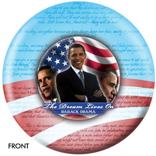 OTBB Barack Obama - Marting Luther King Bowling Ball