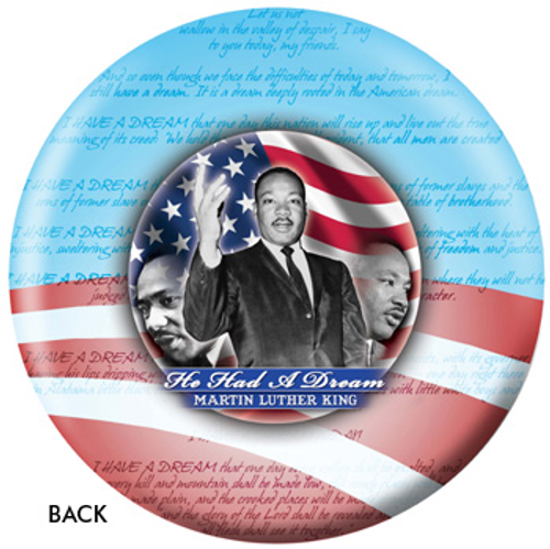 OTBB Barack Obama - Marting Luther King Bowling Ball