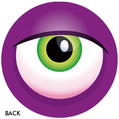 OTBB Monster Eyeball Purple Bowling Ball