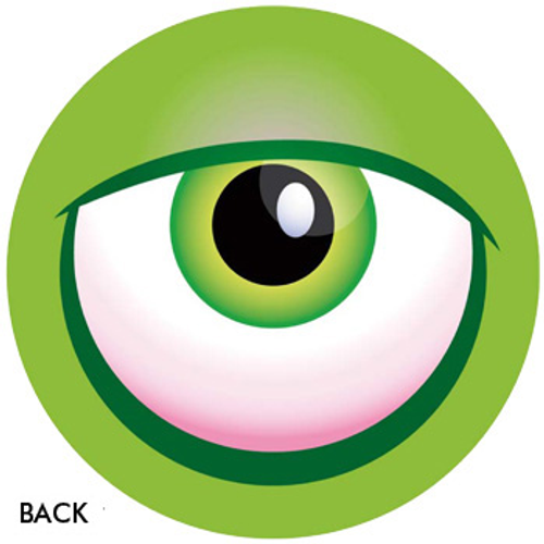 OTBB Monster Eyeball Green Bowling Ball