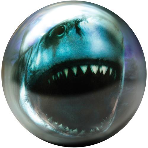 Brunswick Shark Viz-A-Ball Bowling Ball