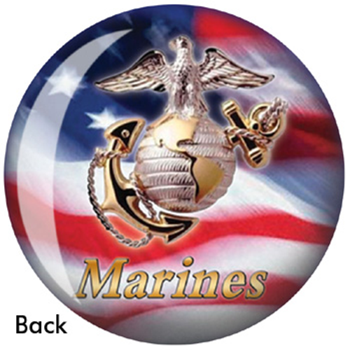 OTBB Marines Bowling Ball