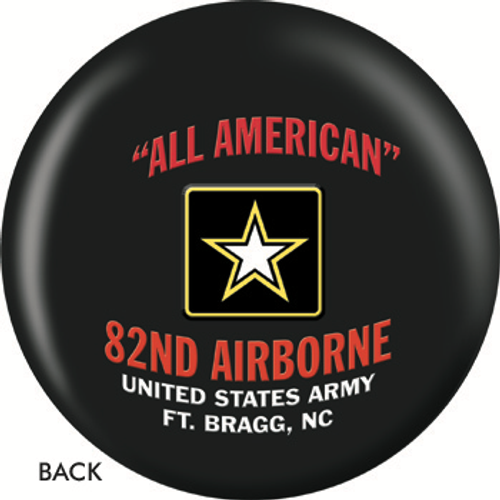 OTBB 82nd Airborne Bowling Ball