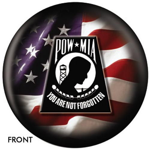 OTBB POW-MIA Bowling Ball