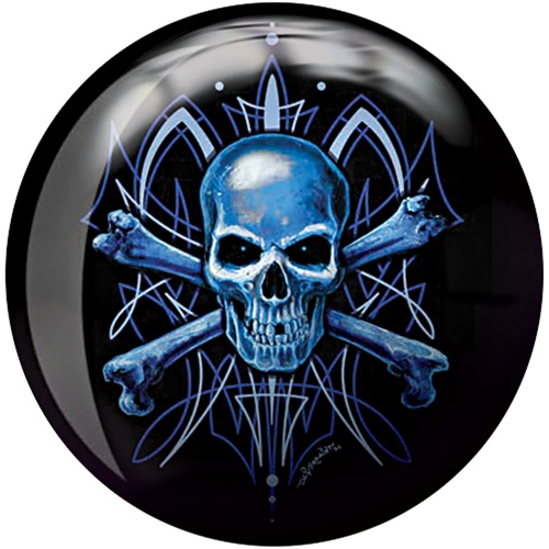 Brunswick Skull Viz-A-Ball Bowling Ball