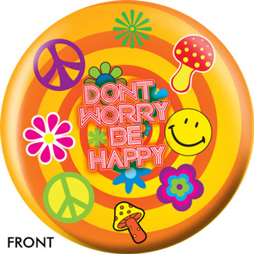 OTBB Don't Worry Be Happy Bowling Ball