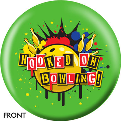 OTBB Hooked On Bowling! Bowling Ball