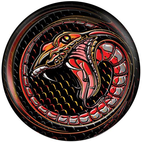 Brunswick Snake Viz-A-Ball Bowling Ball Back Side