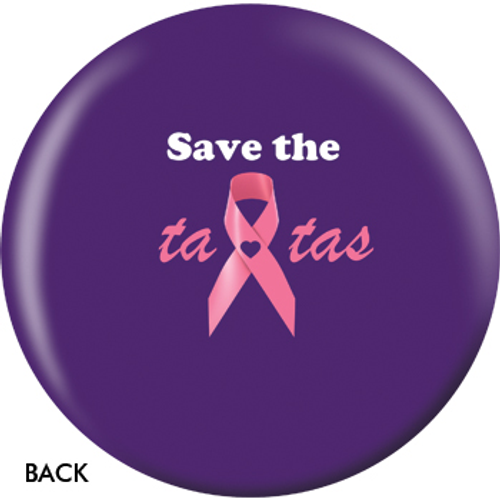 OTBB Save The Ta-Tas Bowling Ball