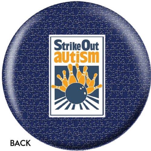 OTBB Strike Out Autism Bowling Ball