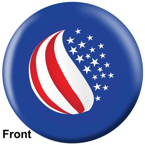 OTBB American Flag Bowling Ball