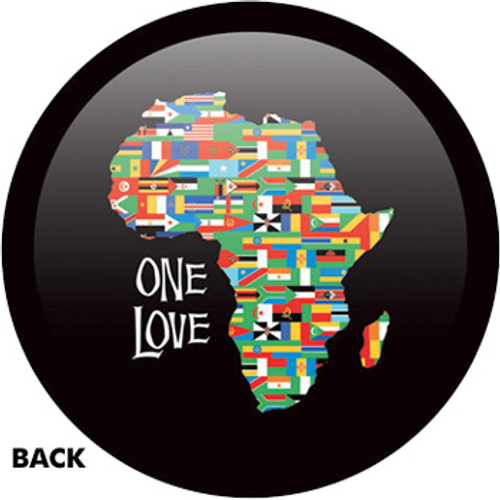 OTBB African Flag - One Love Bowling Ball