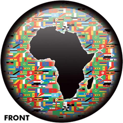 OTBB African Flag - One Love Bowling Ball