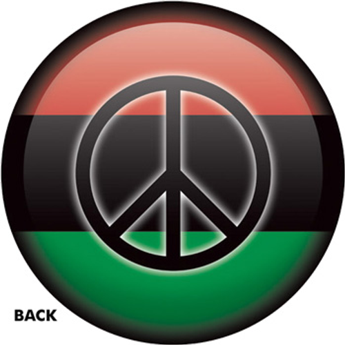 OTBB African Flag - Peace Bowling Ball
