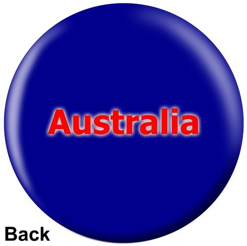 OTBB Australian Flag Bowling Ball