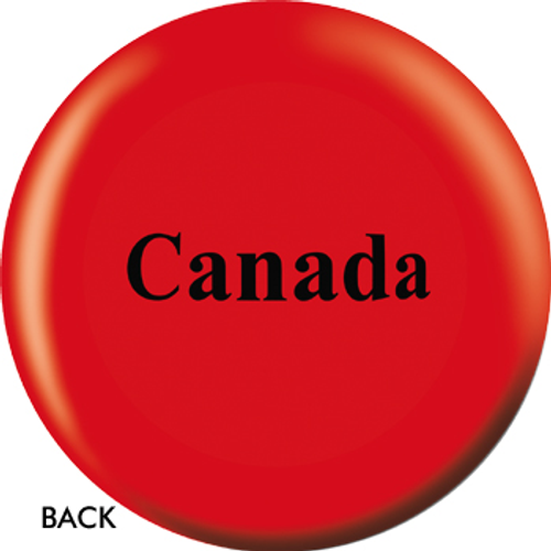 OTBB Canadian Flag Bowling Ball
