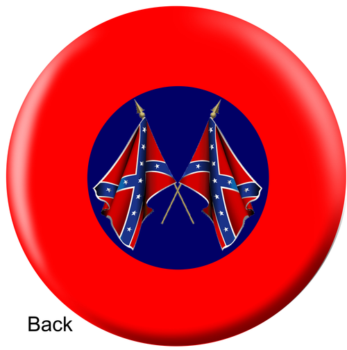 OTBB Confederate Flag Bowling Ball