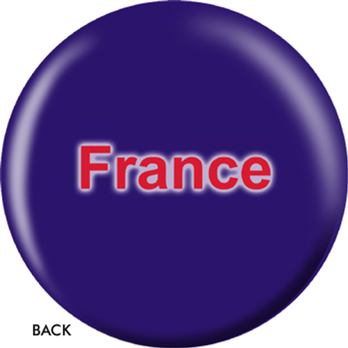 OTBB French Flag Bowling Ball