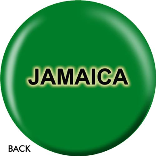 OTBB Jamaican Flag Bowling Ball