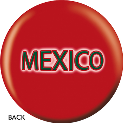 OTBB Mexican Flag Bowling Ball