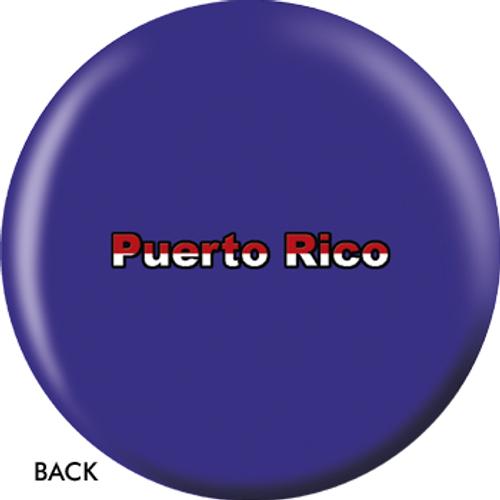 OTBB Puerto Rican Flag Bowling Ball