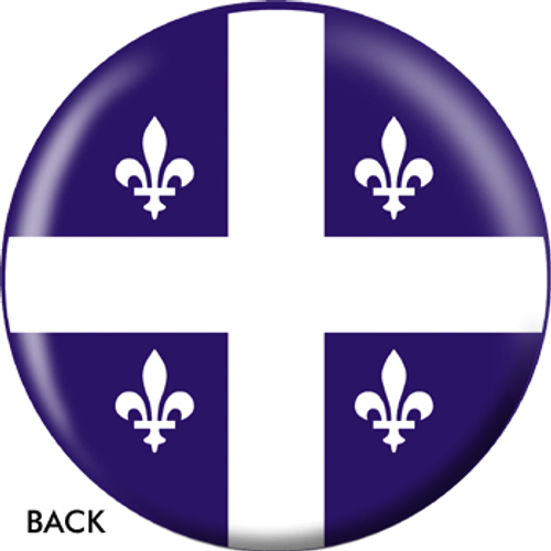 OTBB Quebec Flag Bowling Ball