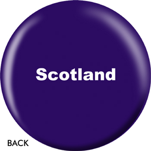OTBB Scottish Flag Bowling Ball