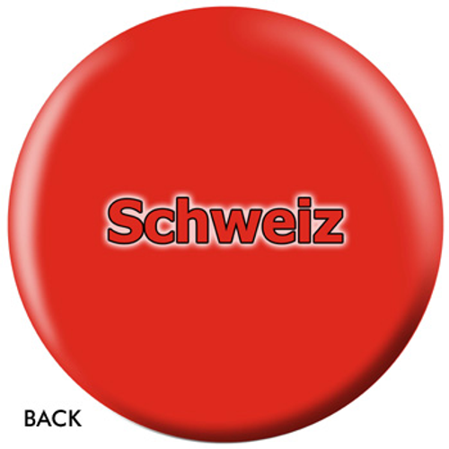 OTBB Swiss Flag Bowling Ball