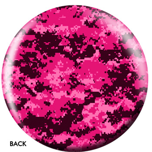 OTBB Pink Camouflage Bowling Ball