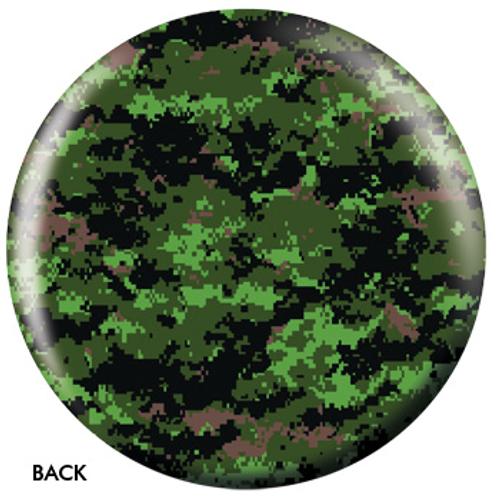 OTBB Green Camouflage Bowling Ball