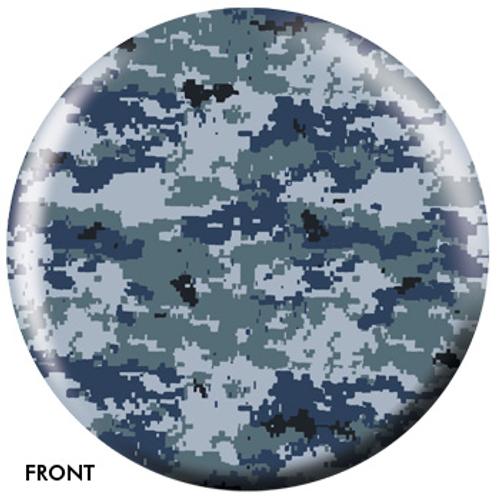 OTBB Blue-Grey Camouflage Bowling Ball