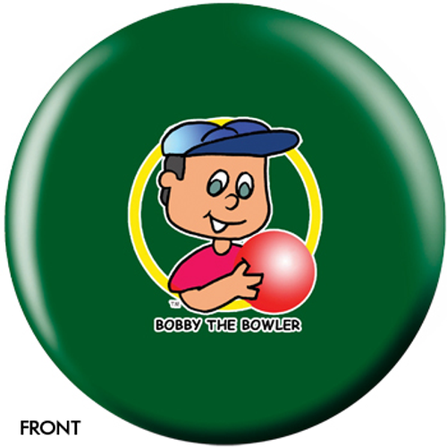 OTBB Bobby The Bowler Green Bowling Ball