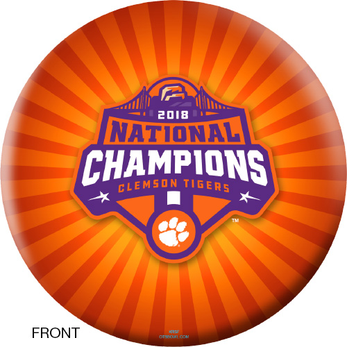 OTBB 2018 National Champion Clemson Bowling Ball